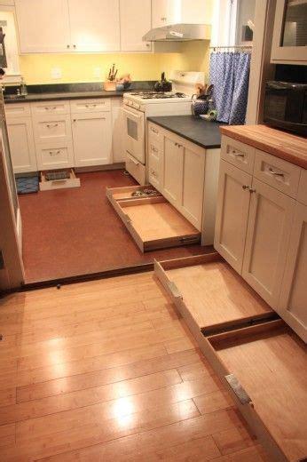 toe kick drawers awesome idea   unused space