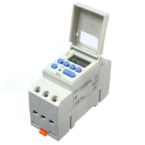 Timer Digital Original 220v Ac16 ac 220v 16a din rail digital programmable timer switch alex nld