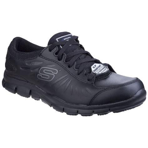 Skechers Work Shoes by Skechers Eldred Slip Resistant Womens Work Shoes