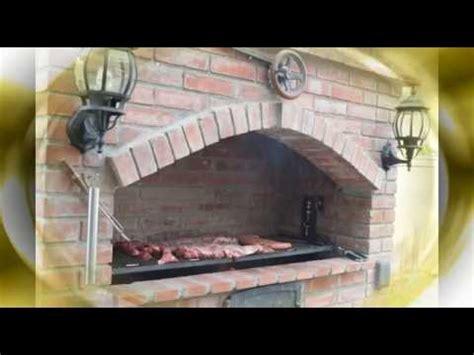 parrilla argentina de ladrillo youtube