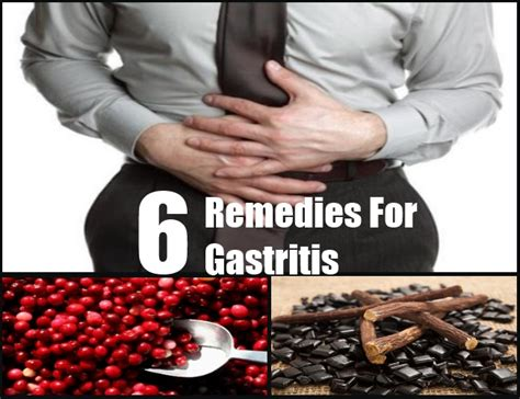 6 best home remedies for gastritis herbal treatment for