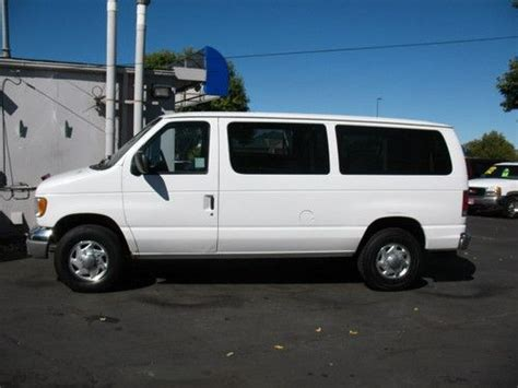 how cars run 1998 ford econoline e350 transmission control purchase used 1998 ford e 350 econoline club wagon xl hd standard passenger van 2 door 7 3l in
