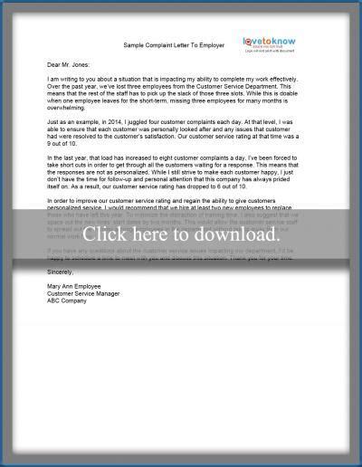 Unsatisfied Customer Letter 20 luxury letter template unsatisfied customer pics