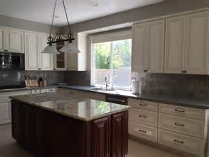 White Cabinets Quartz Countertops Quartz Countertops With Antique White Cabinets Ldnmen