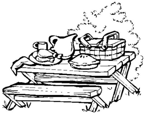 picnic coloring pages picnic coloring pages 21054