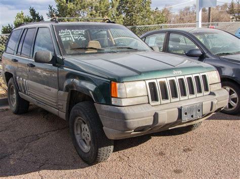 1996 Jeep Grand Laredo Parts Pre Owned 1996 Jeep Grand Laredo Sport Utility In