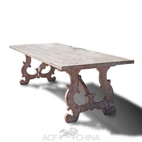 country dining table reclaimed pinewood country dining table acf china