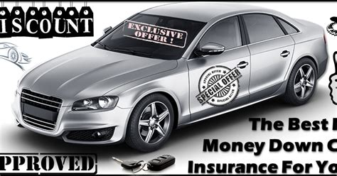 Car Insurance No Down Payment Needed With Best Deals And