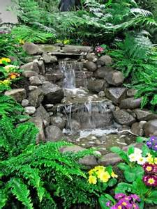 Build A Patio Bench 75 Relaxing Garden And Backyard Waterfalls Digsdigs