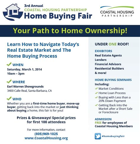 coastal housing partnership 2014 home buying fair
