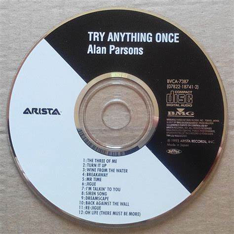 Kaset Alan Parsons Try Anything Once try anything once by alan parsons cd with techtone11 ref 118598531