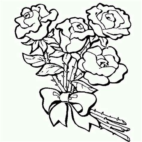 rose coloring pages for adults coloring pages