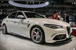 Quadrifoglio Alfa Romeo Alfa Romeo Giulia Quadrifoglio Vs Bmw M5 Un Le
