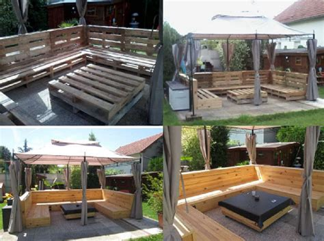 patio furniture wood pallets diy wooden dome constructed from pallets decor advisor