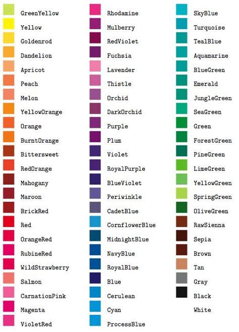 names of colors 8 best images about let s talk color on pinterest