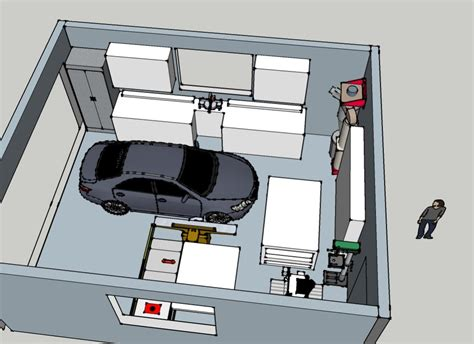layout of car workshop two car garage workshop layout house plans 48554