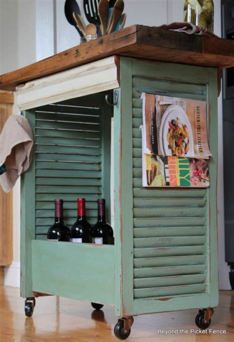 Organize Your Home Office by Upcycled Ideas For Diy Window Shutters Hoosier Homemade