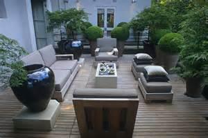 terrassengestaltung ohne erdaufbau von living garden