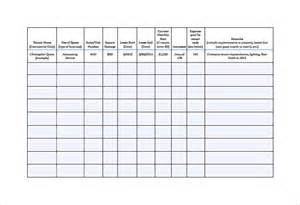Commercial Rent Roll Template by Sle Rent Roll Form 13 Free Documents In Pdf