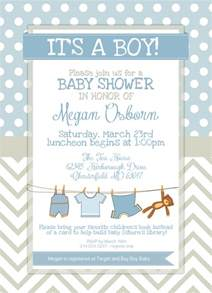Baby Shower Templates For Boy by Free Printable Baby Shower Invitations For Boys Template