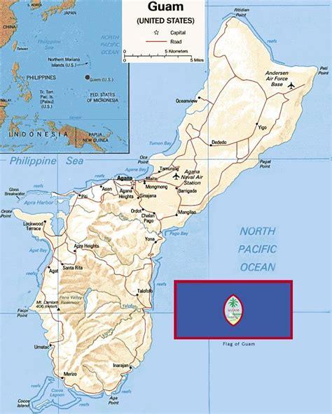 map guam guam map