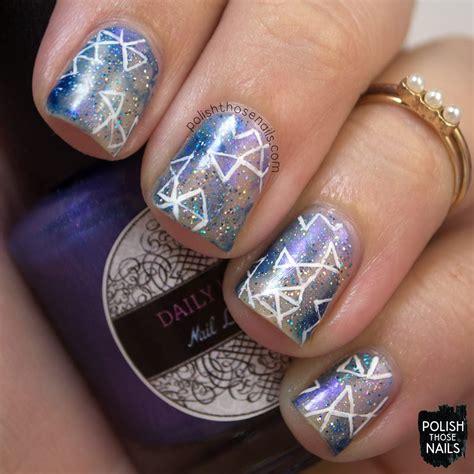 beautiful galaxy nail art design ideas blurmark
