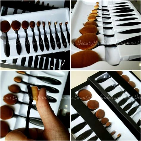 Figure 1 Set Isi 10 Pc no brand no brand oval brush set isi 10pc