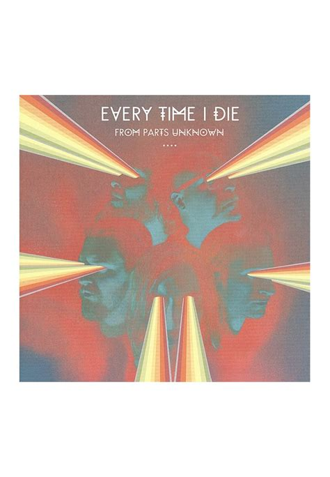 Every Time I Die Vinyl Uk - every time i die from parts unknown cd cds vinyl