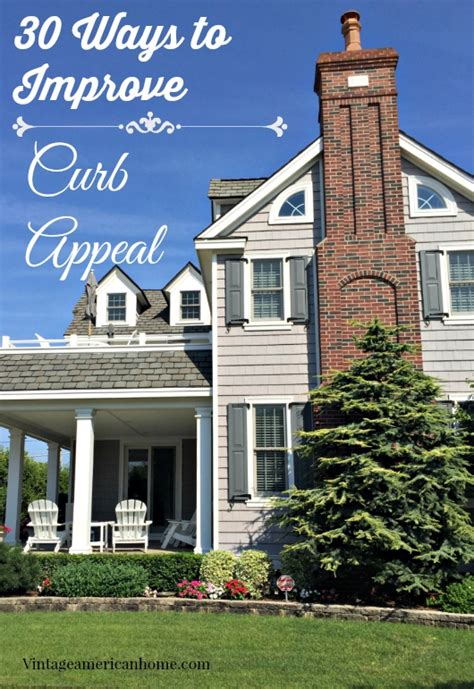 Vintage American Home by Top 30 Curb Appeal Tricks Vintage American Home