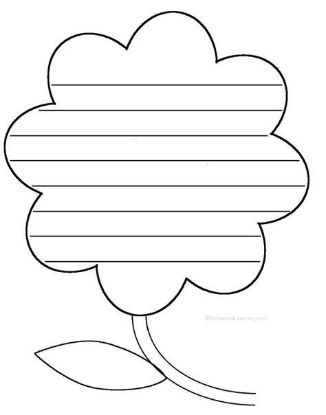 friendship flower template 20 best ideas about shape poems on preschool
