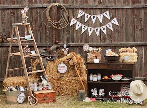 party themes classic 52 cowboy themed boy birthday party ideas spaceships and