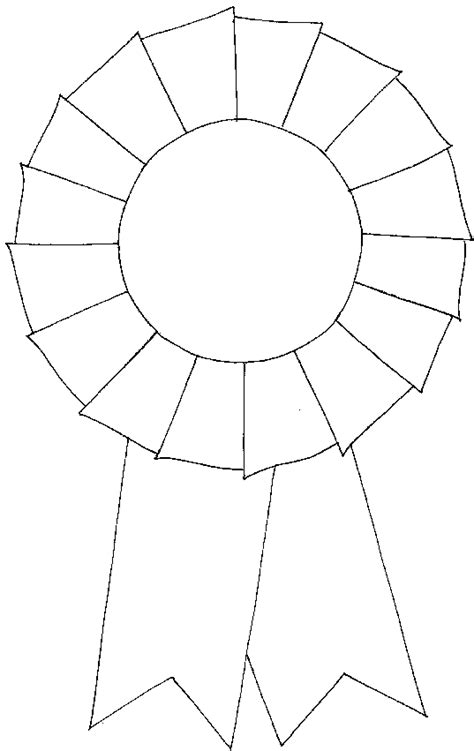 Rosette Template Printable free coloring pages of rosettes