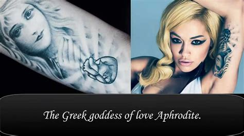 rita ora tattoos ora s tattoos their meanings