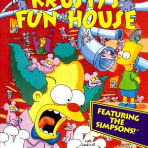krusty s fun house krusty s fun house nes boxbox my games reproduction game boxes