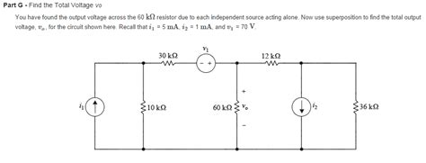 resistor quiz questions find the total voltage you found the output v chegg