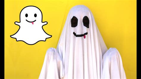 diy easy halloween costume snapchat ghost lucykiins