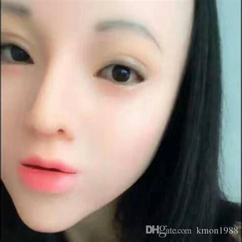 Ex Machina Location by Top Grade 100 Latex Female Mask Latex Silicone Ex Machina