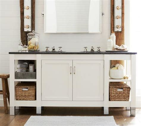 Pottery Barn Sink Vanity by Napa Sink Console With Limestone Pottery Barn