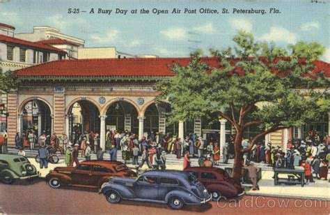 Post Office St Petersburg by A Busy Day At The Open Air Post Office St Petersburg Fl