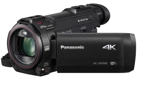 and camcorder panasonic 4k ultra hd camcorder with evf hc vxf990eb