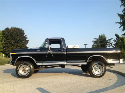 1977 ford highboy 1977 ford f 250 4x4 highboy used classic ford for sale