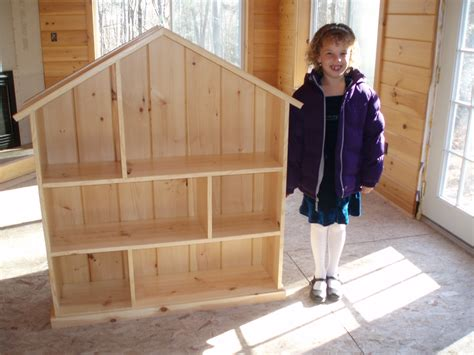 white dollhouse bookcase diy projects
