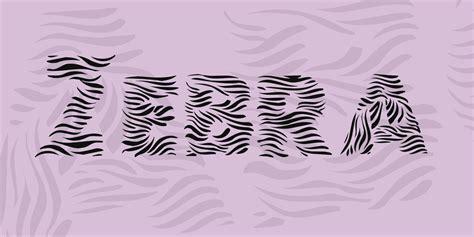 typography zebra zebra font 183 1001 fonts