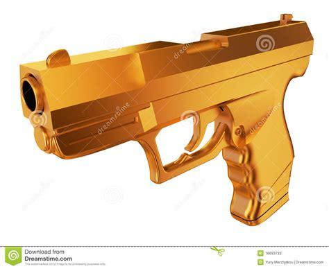 Gold Gun L by Golden Gun Stock Photos Image 16693733