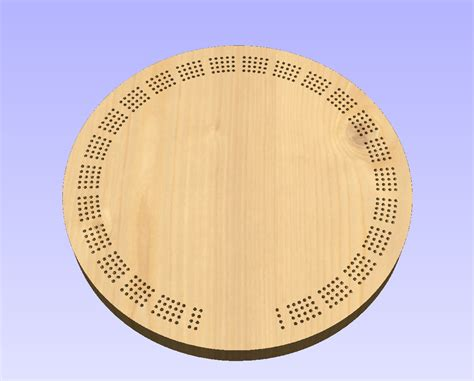 cribbage templates 15 inch template