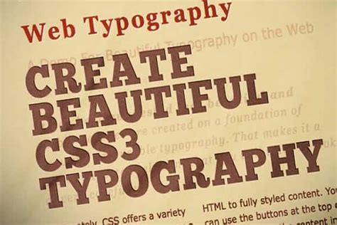 40 creative css3 text effects and tutorials 40 creative css3 text effects and tutorials