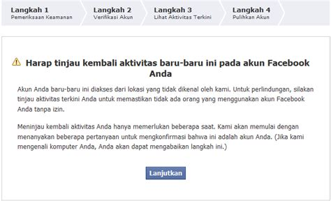 fb ke hack ada apa dengan account facebook ku syamsyah