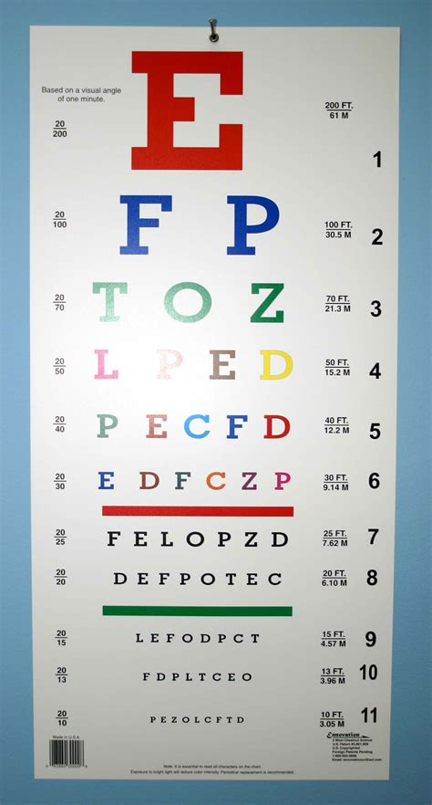 printable sloan eye chart 20 40 vision eye chart pictures to pin on pinterest