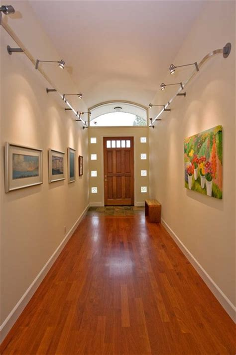 entry  barrel vaulted ceilings  glass block