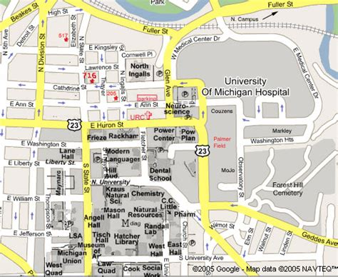 uco parking map christian outreach at the of michigan